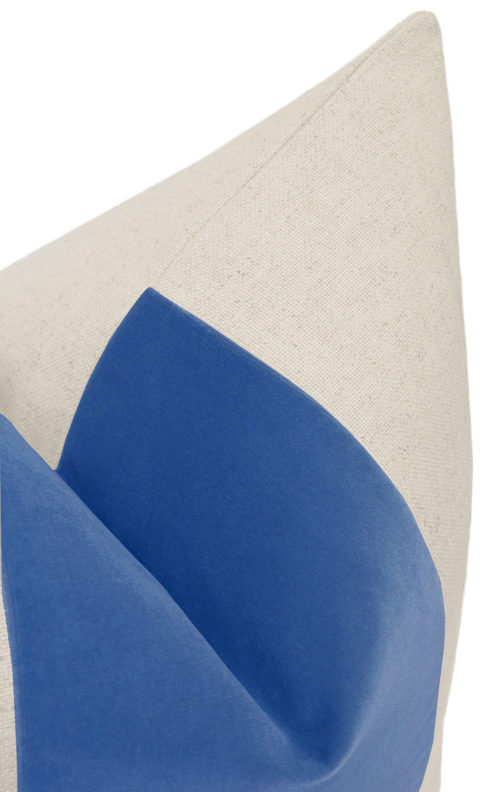 """PANEL :: Signature Velvet // Calypso Blue - 12"""" X 18"""""""