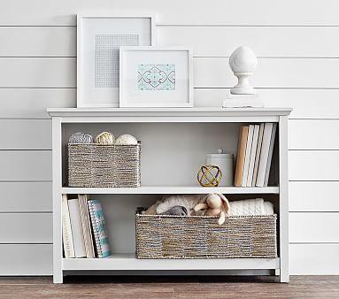 Cameron 2 Shelf Bookcase, Charcoal