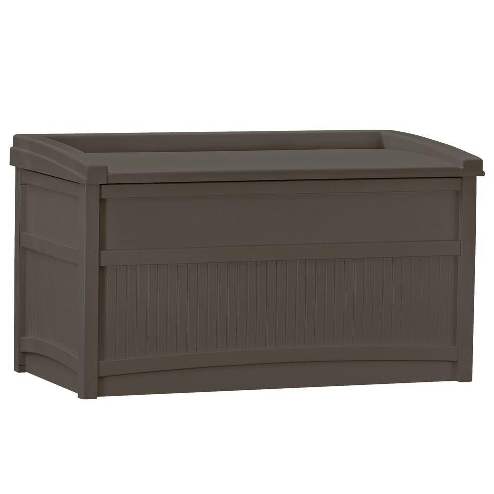 50 Gal. Resin Deck Box, Java
