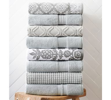 PB Classic Organic Towels, Wash, Indigo