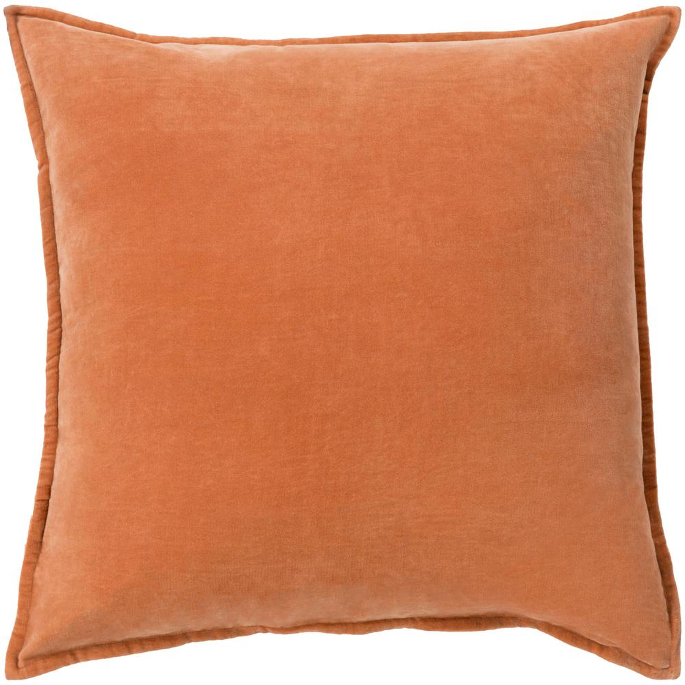 Velizh Poly Euro Pillow, Orange