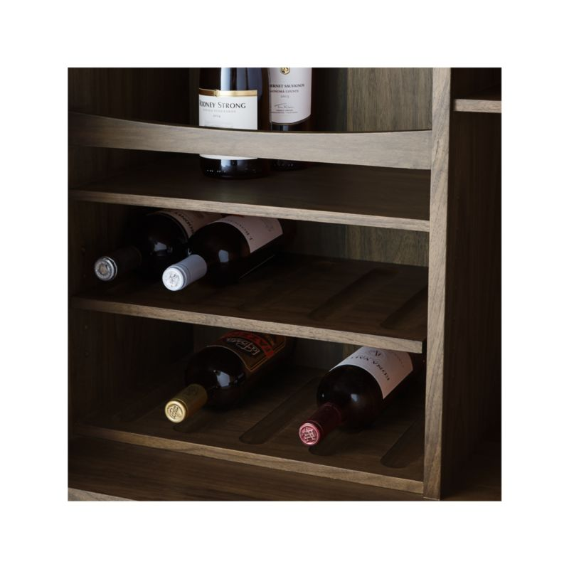 Tate Lighted Bar Cabinet