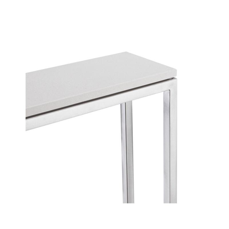 Era Limestone Console Table