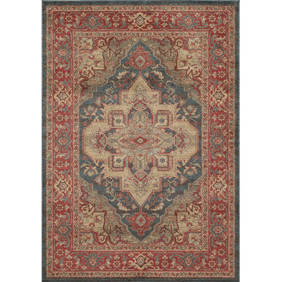 Othello Red Area Rug