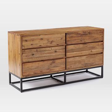 Logan 6-Drawer Dresser, Natural