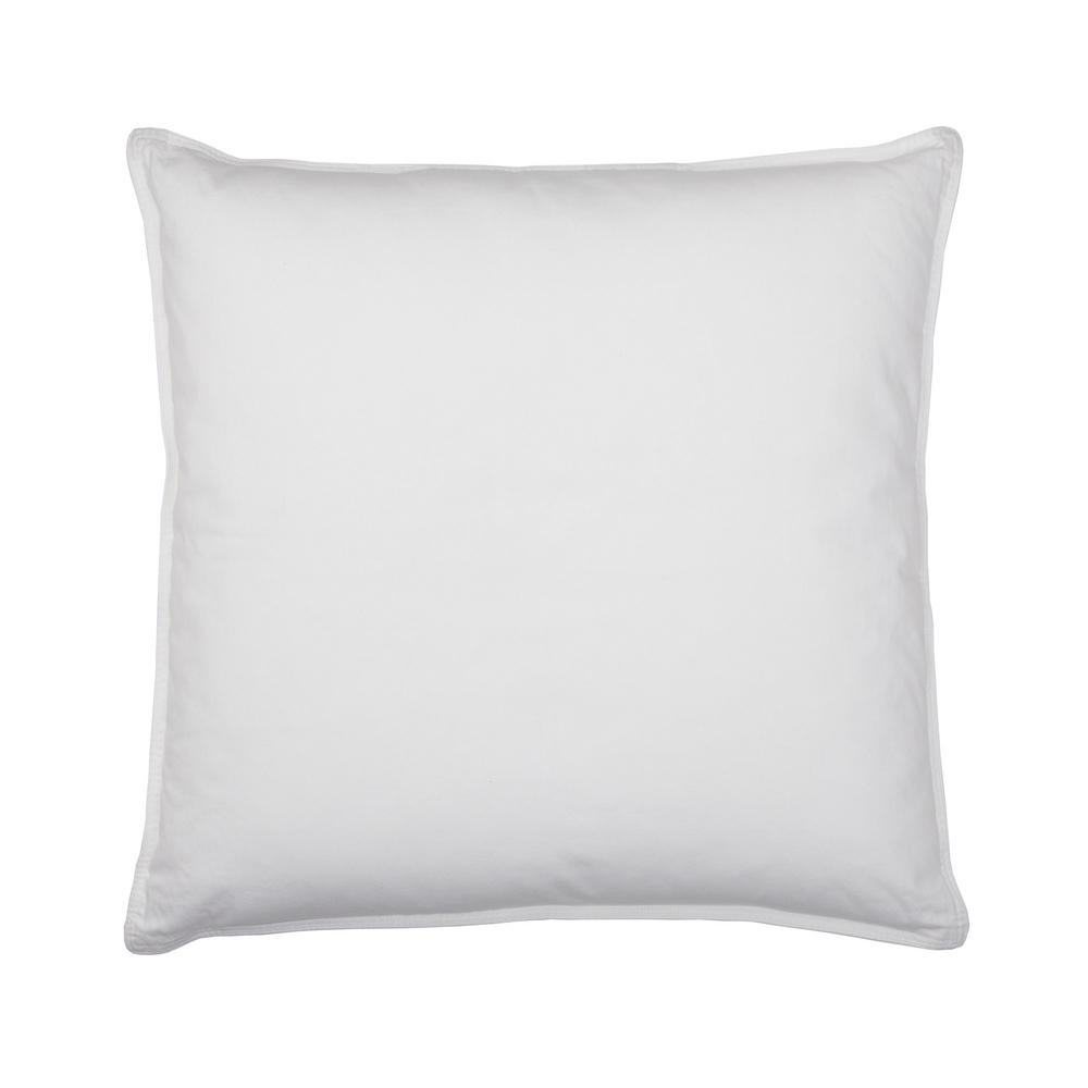 Company Cotton White Down Decorative Pillow Insert, 20 in. x 20 in.