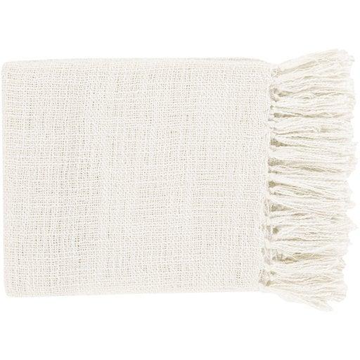 Alden Throw Blanket, White