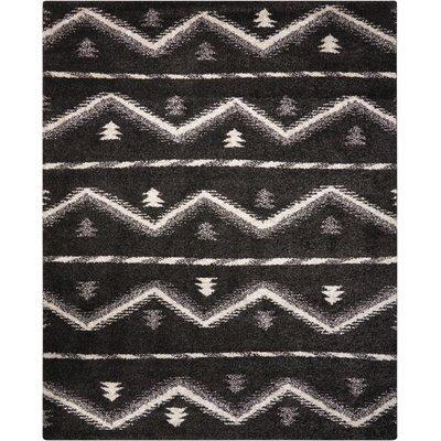 Rushmere Black/White Area Rug