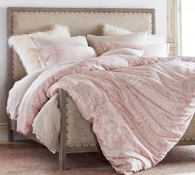 Toulouse Bed, Gray Wash, California King