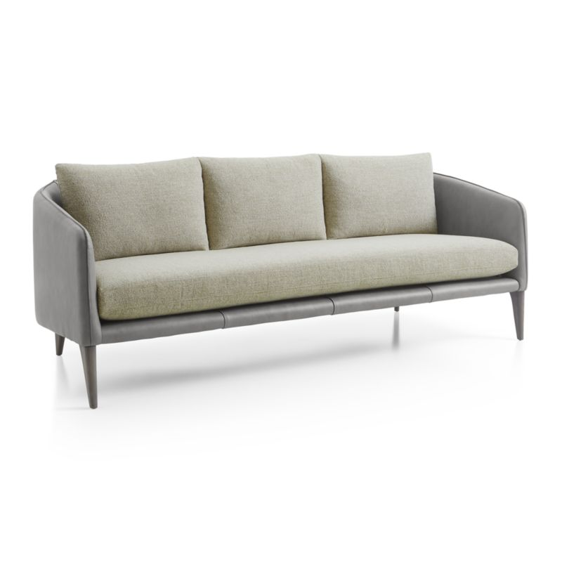 Rhys Leather Bench Seat Sofa