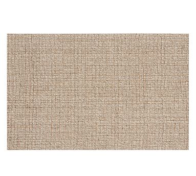 Chunky Wool Jute Rug, 10 x 14', Natural