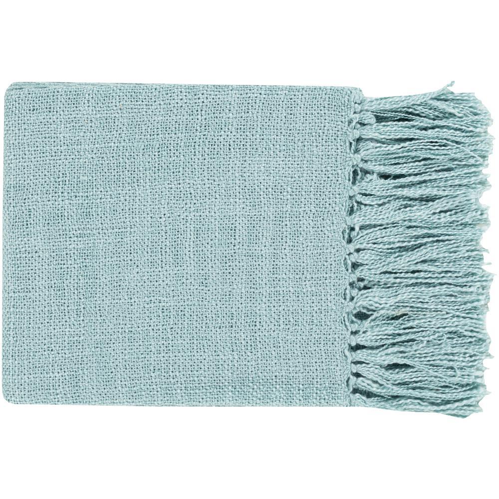 Madelyn Aqua (Blue) Acrylic Throw
