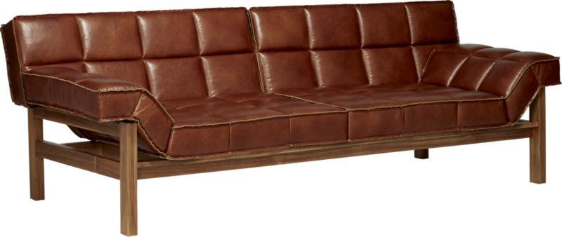 Drops Leather Sofa