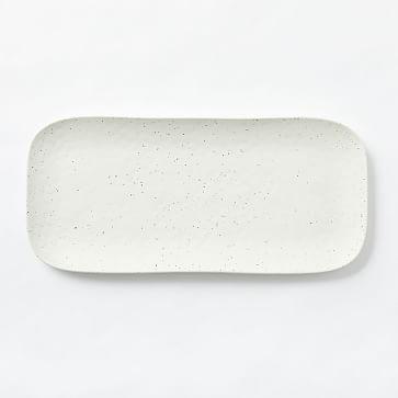Melamine Serveware, Tray, Organic Stone