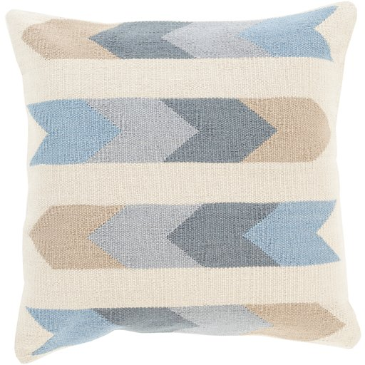 Cotton Kilim - Pillow Shell with Down Insert