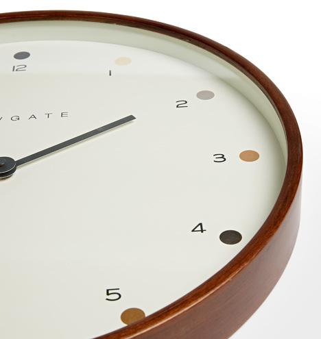 Mr. Clark Dots Clock