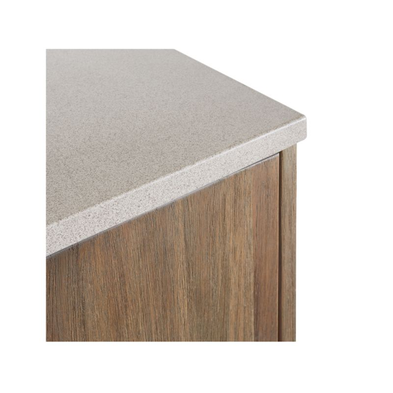 Caicos Cement Top Sideboard