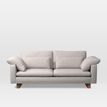 """Harmony Extra Deep Depth 82"""" Sofa (2.5 Seater), Twill, Wheat"""