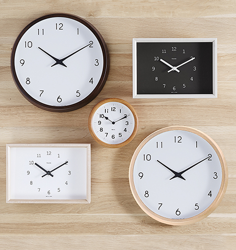 Kaede Maple Table Clock