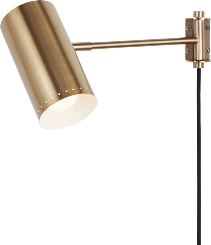 Solo Wall Sconce Brass