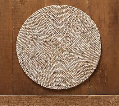 Tava Flat Round Placemat - Natural