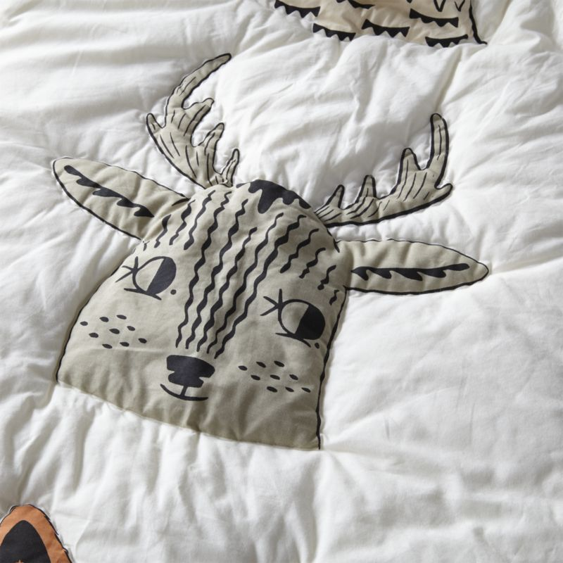 Roxy Marj Woodland Animal Baby Quilt