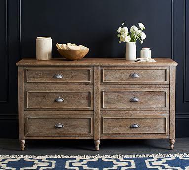 Astoria Extra Wide Dresser, Rosedale Brown