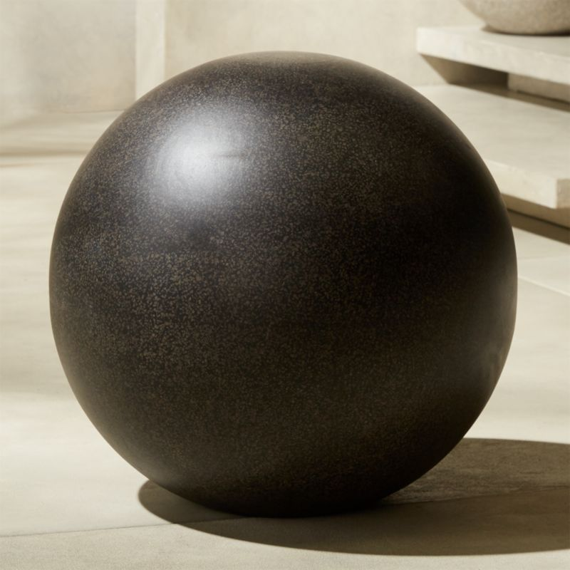 Playa Black XL Terrazzo Ball