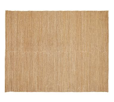 Heathered Chenille Jute Rug, 8x10', Natural