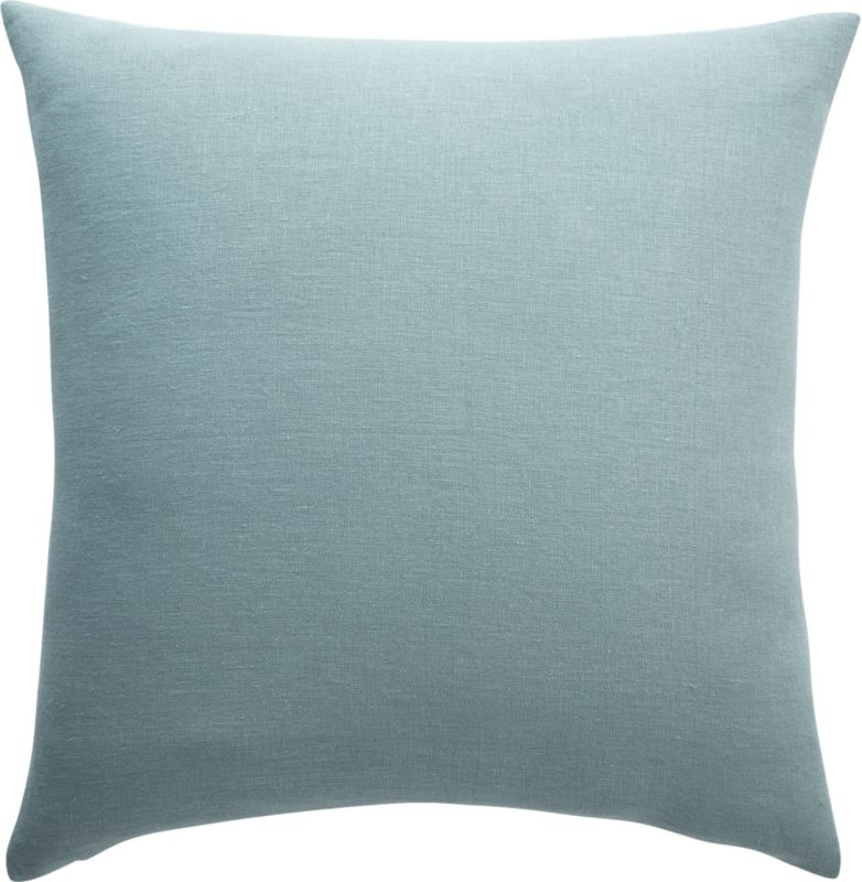 """20"""" Linon Arctic Blue Pillow with Down-Alternative Insert"""