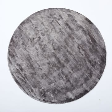 Lucent Rug, Pewter, 6' Round