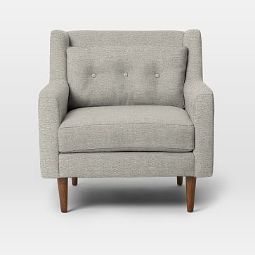 Crosby Arm Chair, Twill, Stone