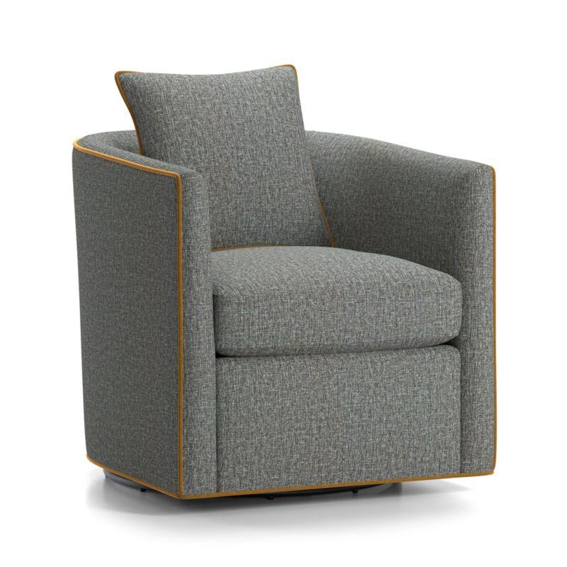 Drew Small Swivel Chair