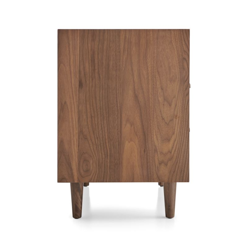 Tate 2-Drawer Midcentury Nightstand with Power Outlet
