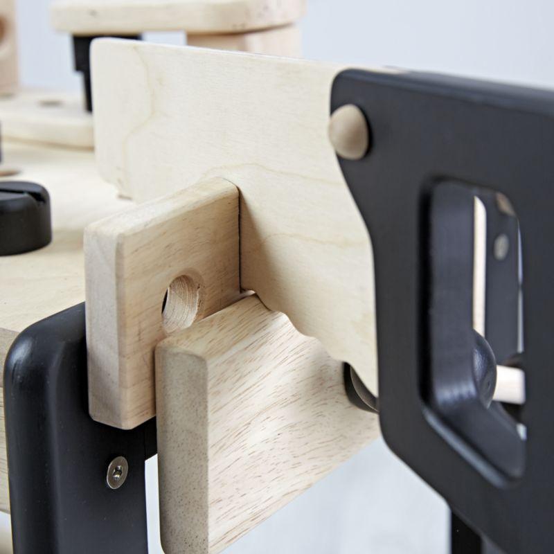 Wooden Toy Workbench