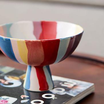 "Limited Edition Expressionist Vase, Amphora, 11.5"""