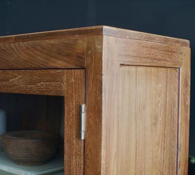 Menlo Reclaimed Teak Storage Cabinet, Camden