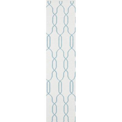 Radnor White/Blue Area Rug