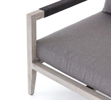 Punta Mita Teak Lounge Chair, Natural