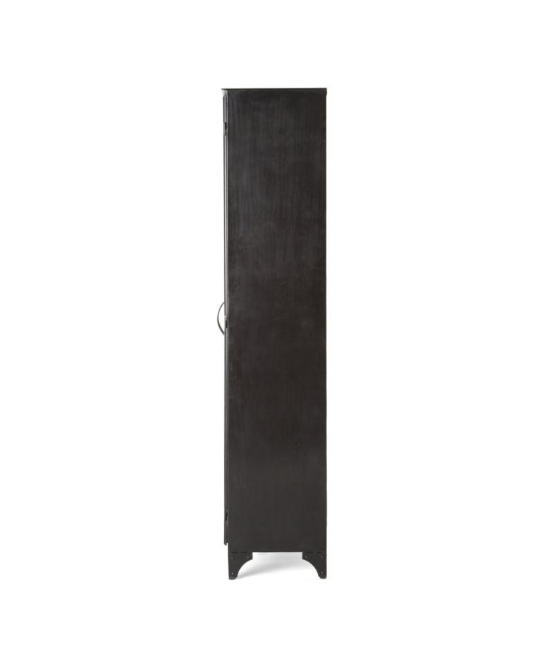 Kedzie Black-and-White Cabinet