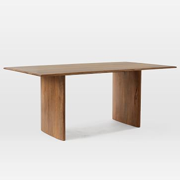 Anton Solid Wood Dining Table, 72""