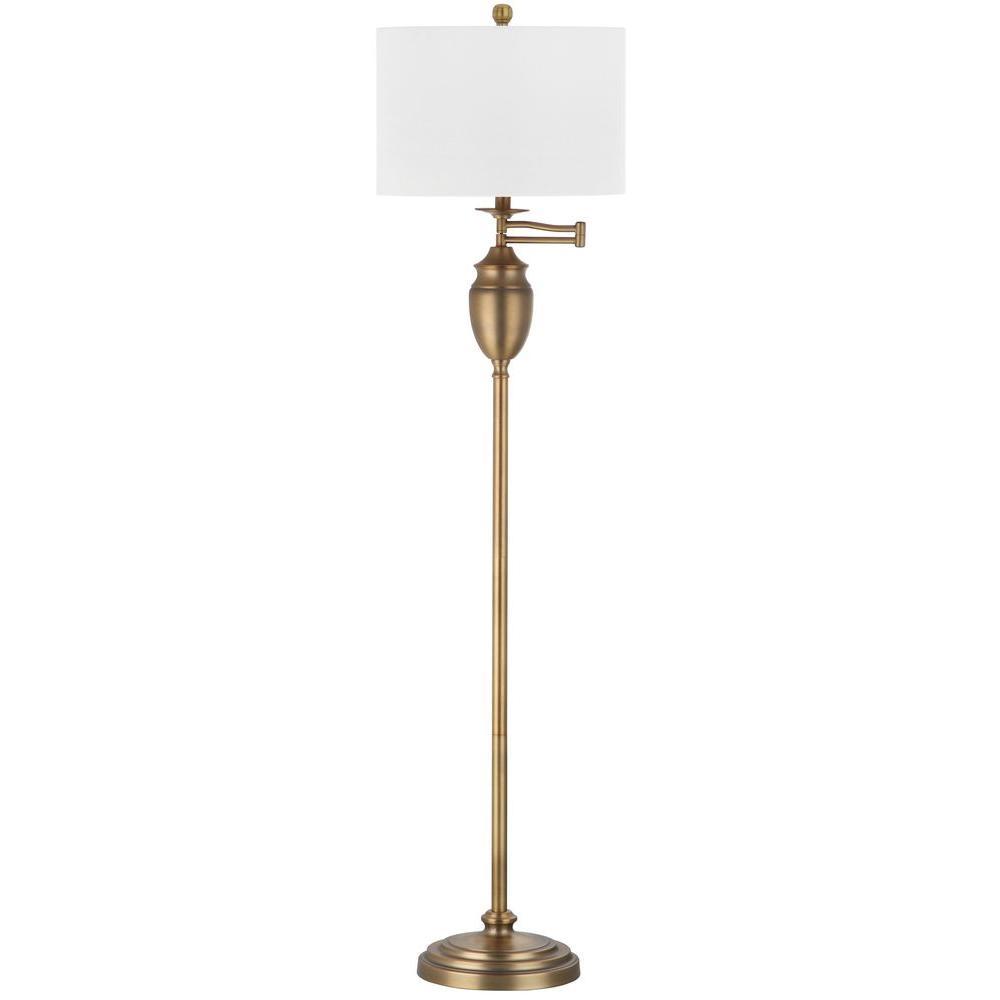 Safavieh Antonia 60 in. Gold Floor Lamp