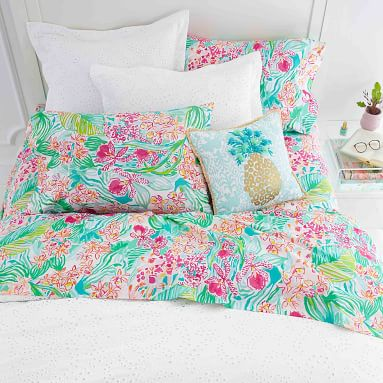 Lilly Pulitzer Orchid Sheet Set, Twin/Twin XL, Multi