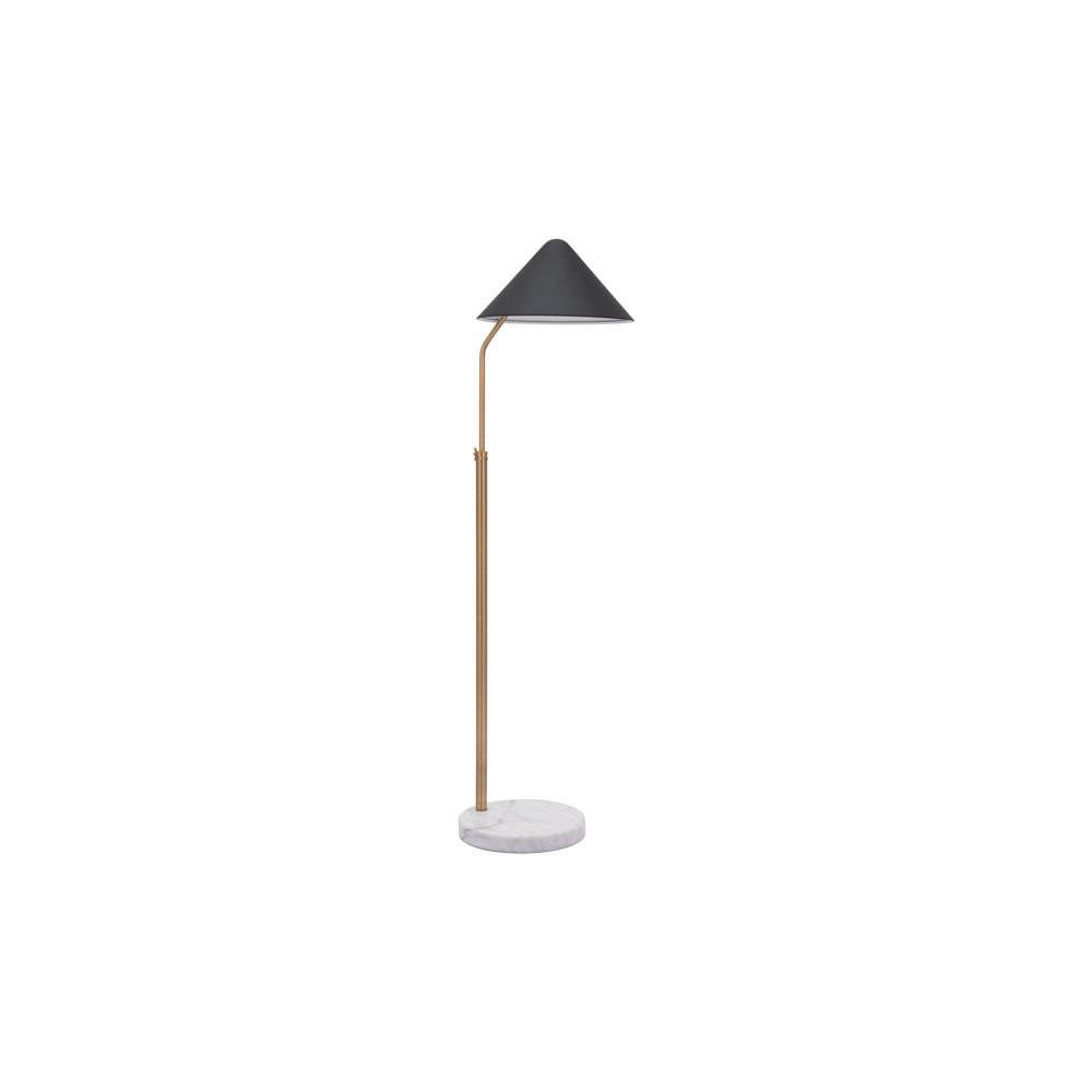 Retro Modern Floor Lamp Black 55 Lamp Only Zm Home Target