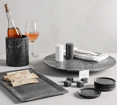 Black Marble Rectangular Platter