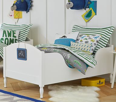 Shelter Toddler Bed, Simply White, In-Home