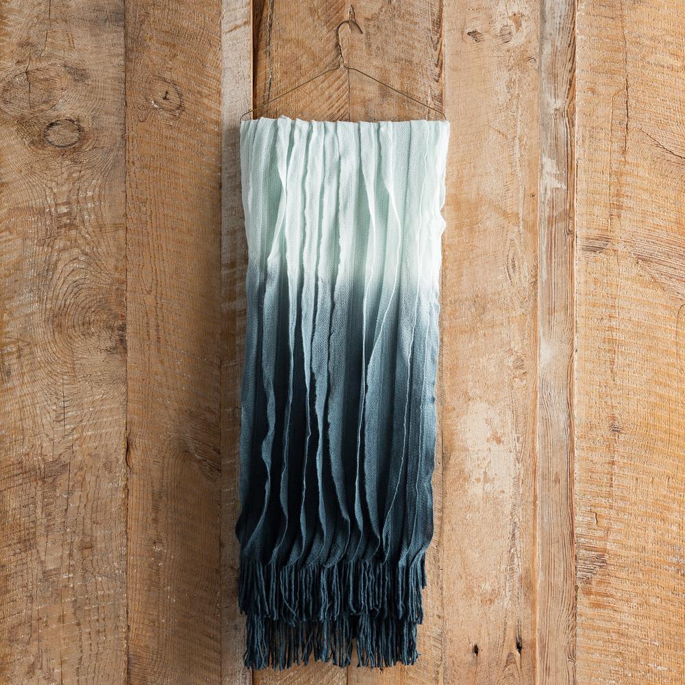 Vivica Teal (Blue) Acrylic Throw
