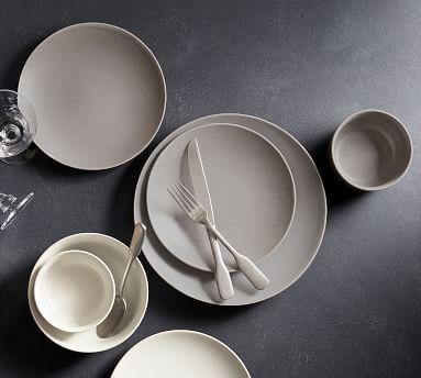 Mason Dinner Plate, Set of 4 - Graphite Gray