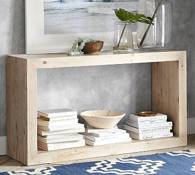 Folsom Console Table, Desert Pine