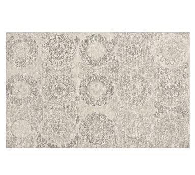 Kendyl Tufted Rug, 8 x 10', Gray